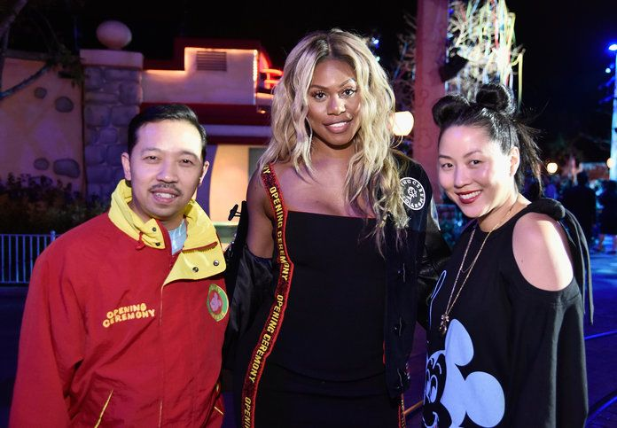 हम्बर्टो Leon, Laverne Cox, and Carol Lim