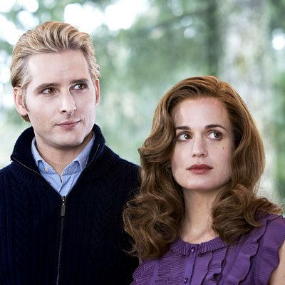 पीटर Faccinelli and Elizabeth Reaser - Hair Secrets from the Set - Twilight Saga