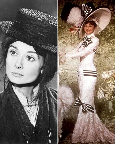 ของฉัน Fair Lady - Audrey Hepburn - Best Movie Makeovers