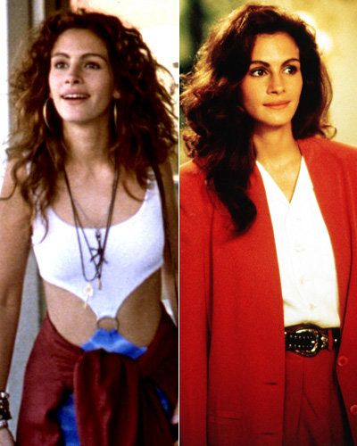 น่ารัก Woman - Julia Roberts - Best Movie Makeovers