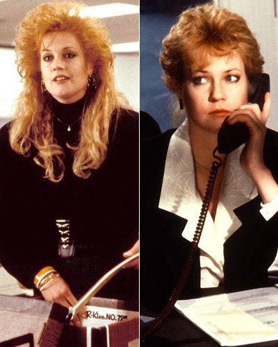 เมลานี Griffith - Working Girl - Movie Makeovers