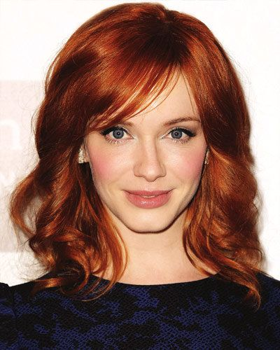 क्रिस्टीना Hendricks - Our Favorite Redheads - Red Hair