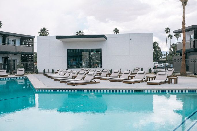 NEWEST HOT SPOT: V Palm Springs Hotel
