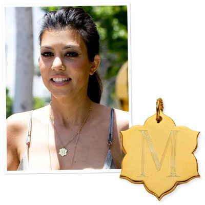 Kourtney Kardashian - Personalized Jewelry - Jordann Jewelry