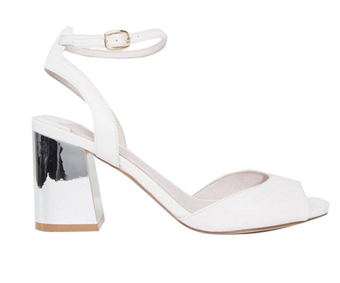 Asos Sandal with Mirrored Heel