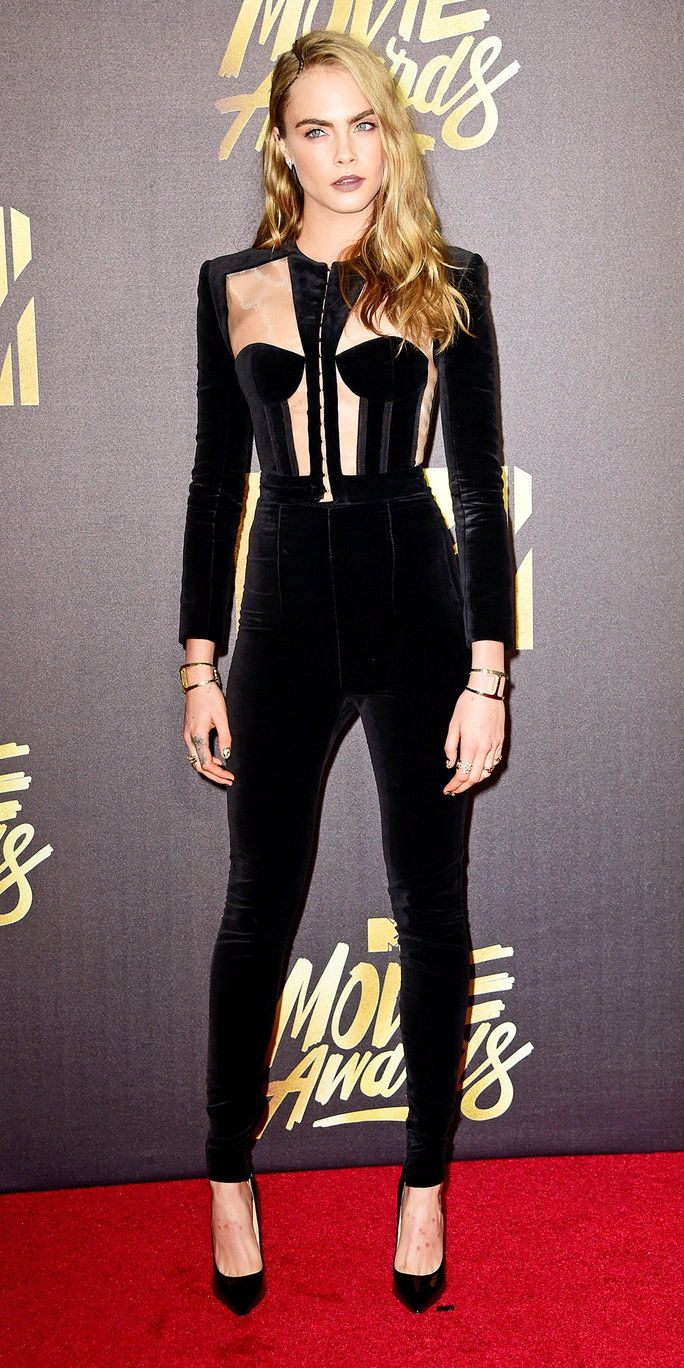 कारा delevigne at the 2016 mtv movie awards
