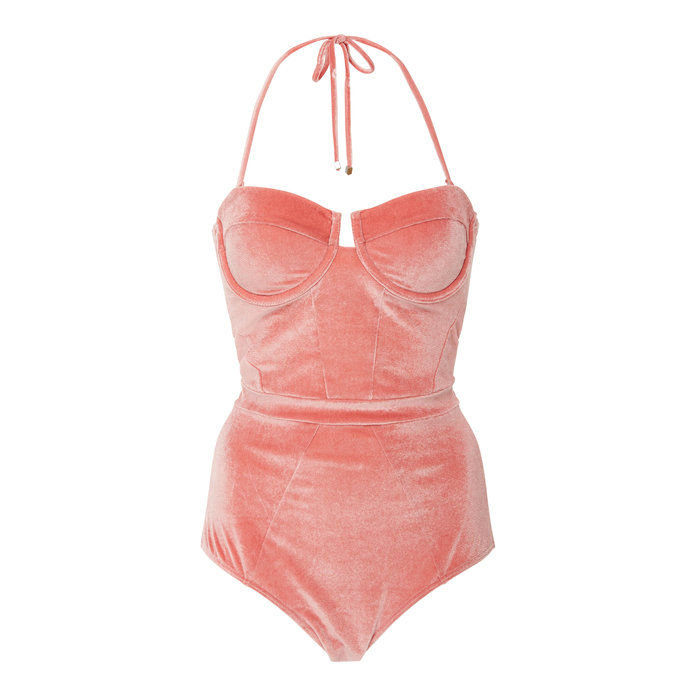 underwired Velvet Swimsuit