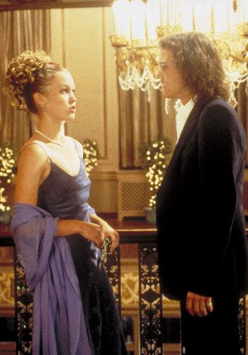 जूलिया Stiles - Heath Ledger - 10 Things I Hate About You - Iconic Prom Dresses
