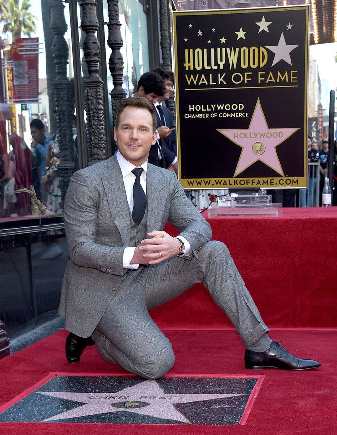 คริส Pratt Hollywood Walk of Fame - 3