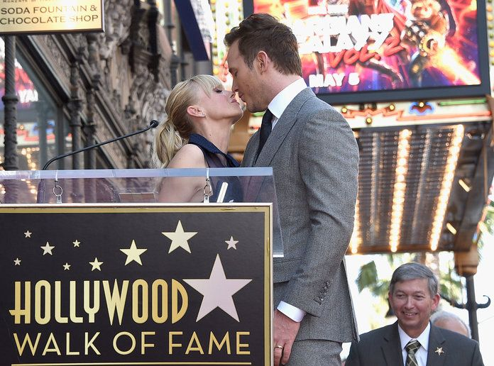 คริส Pratt Hollywood Walk of Fame - 1