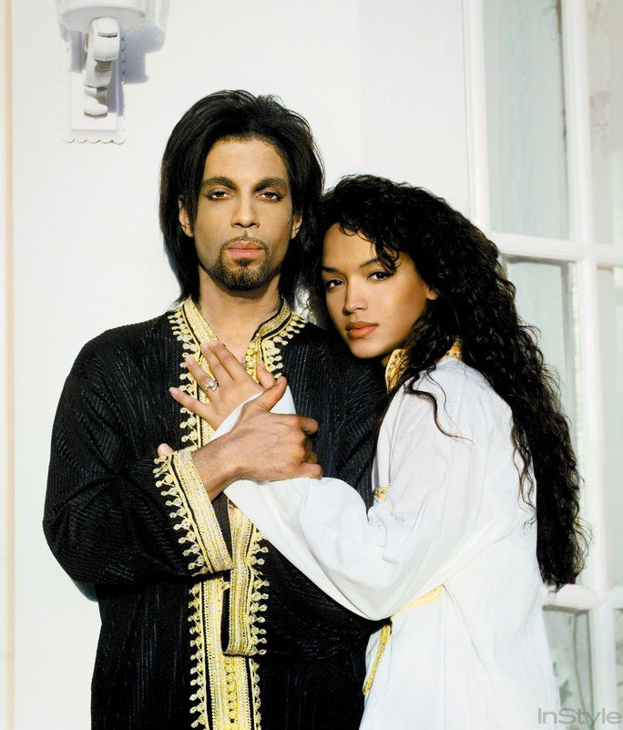 राजकुमार and Then-Partner Mayte Garcia in Their Marbella Villa