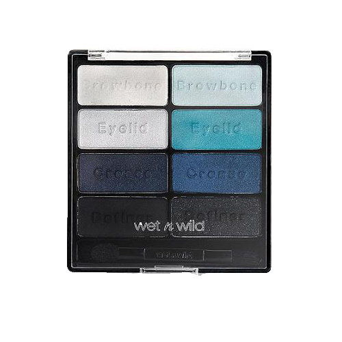 भीगा हुआ'n'Wild Color Icon Eye Shadow Collection in Blue Had Me at Hello
