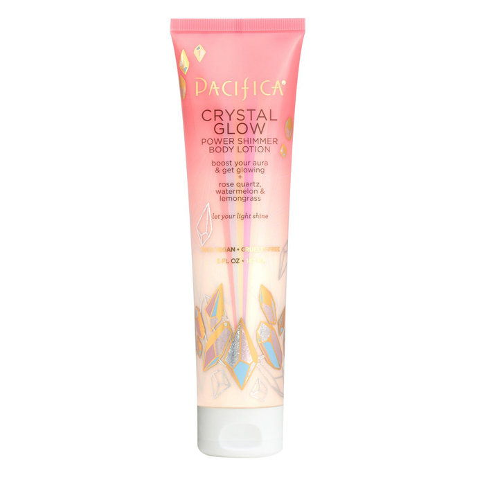 แปซิฟิกา Crystal Glow Power Shimmer Body Lotion
