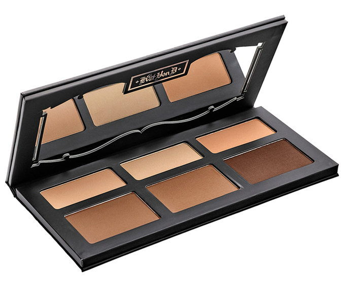 कैट Von D Shade + Light Contour Palette