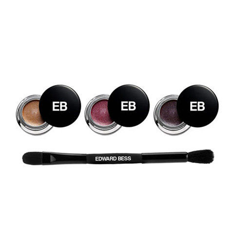 एडवर्ड Bess Expressionist Whipped Liner and Shadow Wardrobe with Dual Ended Brush