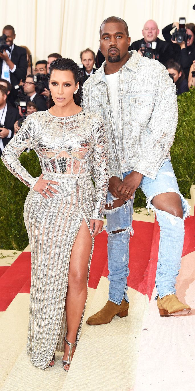 किम Kardashian West and Kanye West
