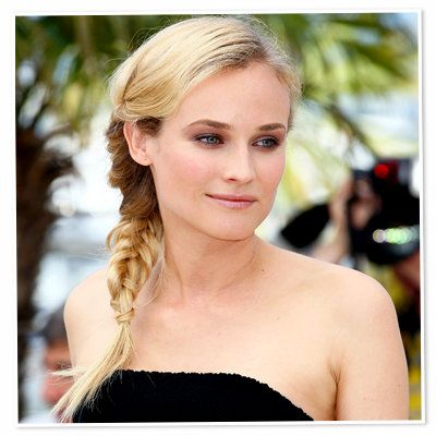 डायने Kruger-braid-hair