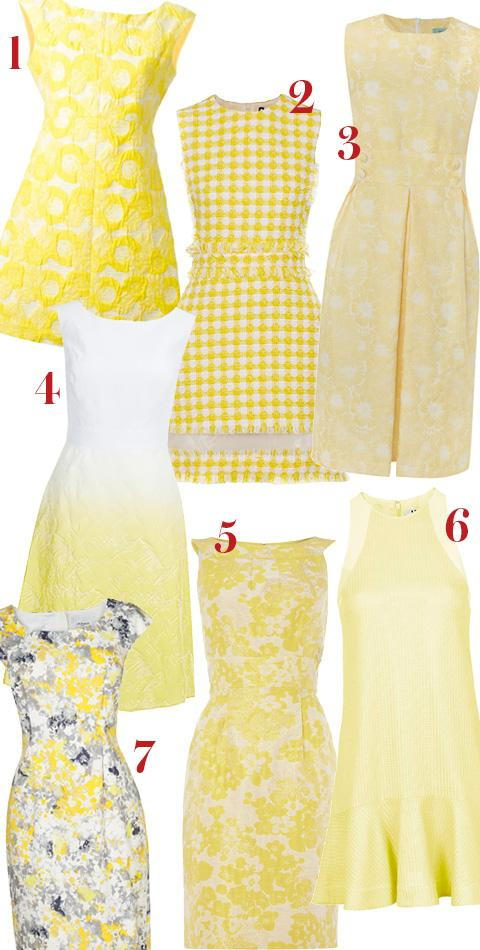 केट Middleton inspired yellow-dresses embed