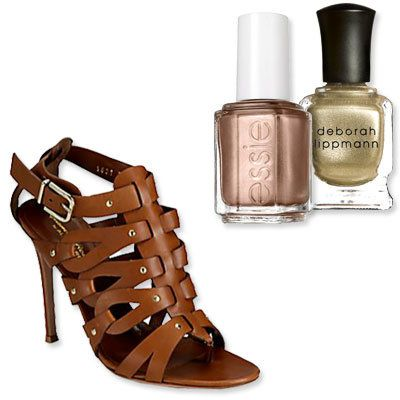 Gladiator Sandals - The Perfect Pedicure to Pair With Every Summer Sandal