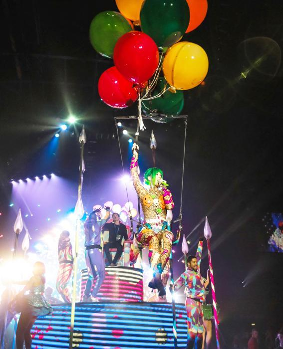 Katy Perry Tour Costumes