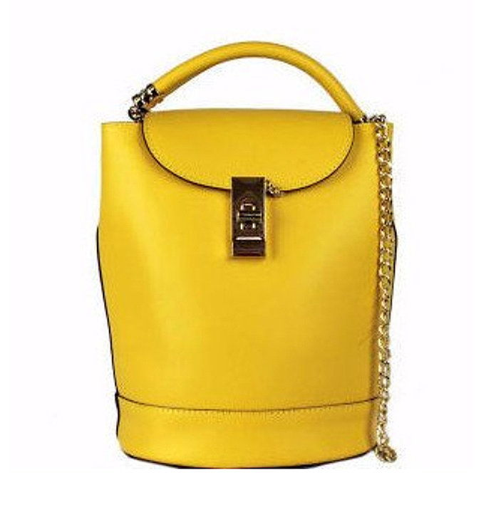 Citrine Bucket Bag