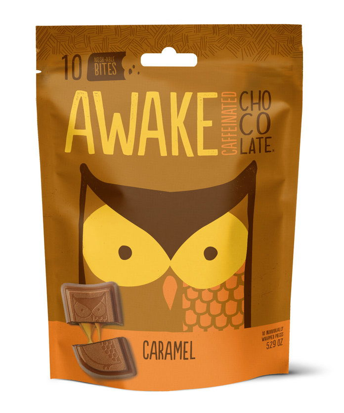 ตื่นตัว Caffeinated Chocolate Bag