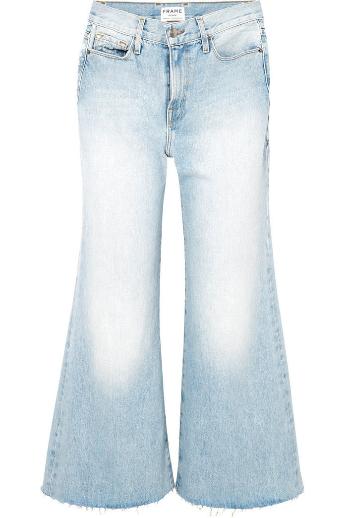 Le Palazzo Frayed Jeans