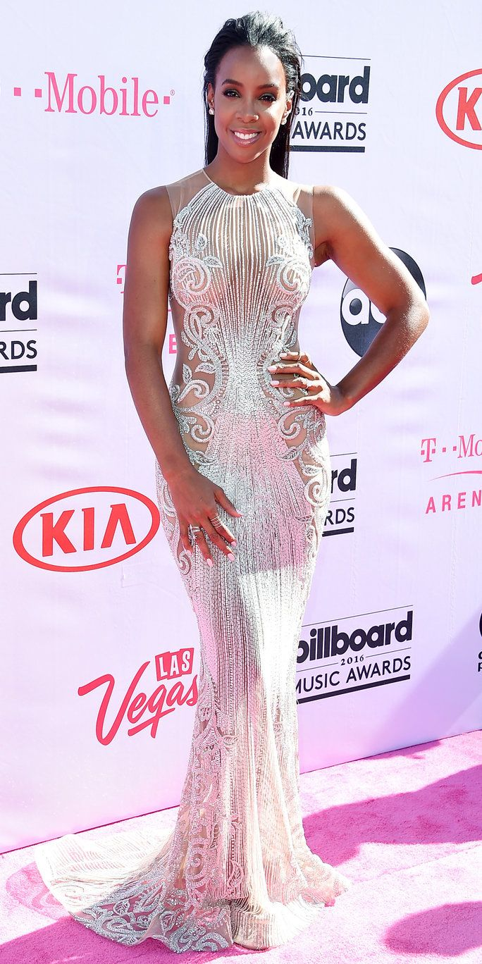 रिकॉर्डिंग artist Kelly Rowland attends the 2016 Billboard Music Awards at T-Mobile Arena on May 22, 2016 in Las Vegas, Nevada.