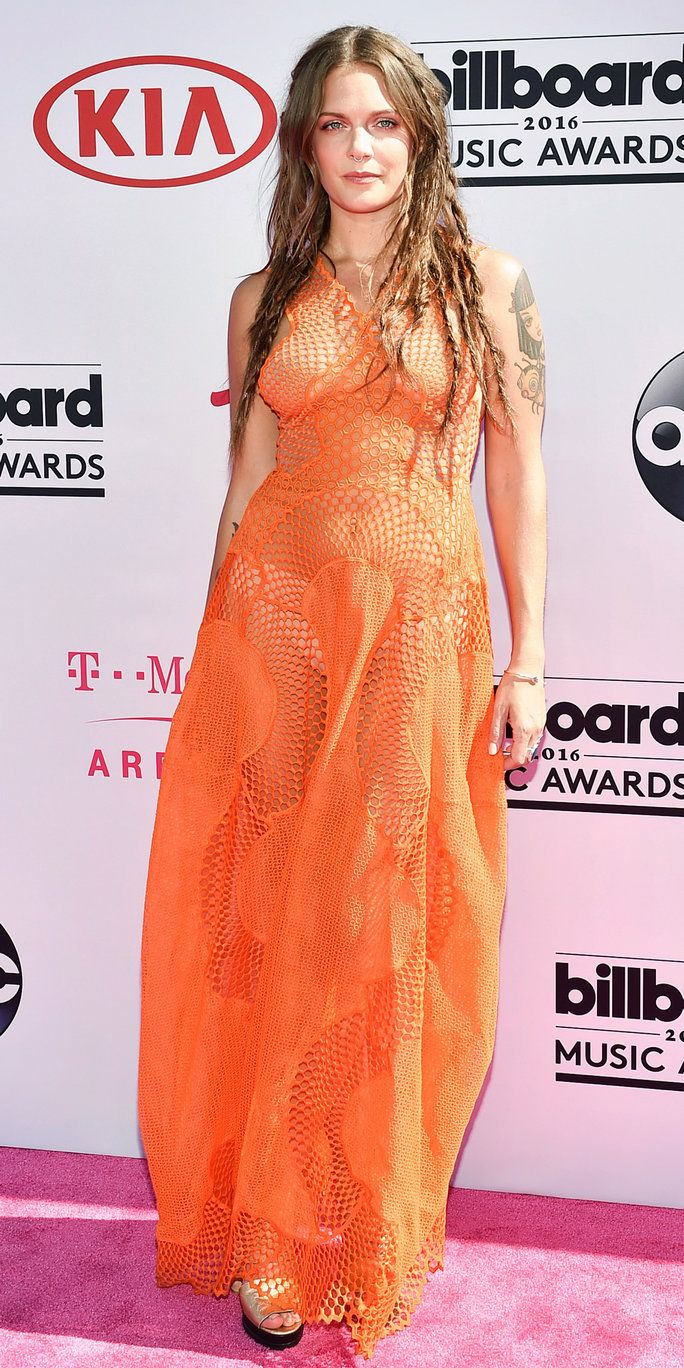रिकॉर्डिंग artist Tove Lo attends the 2016 Billboard Music Awards at T-Mobile Arena on May 22, 2016 in Las Vegas, Nevada.