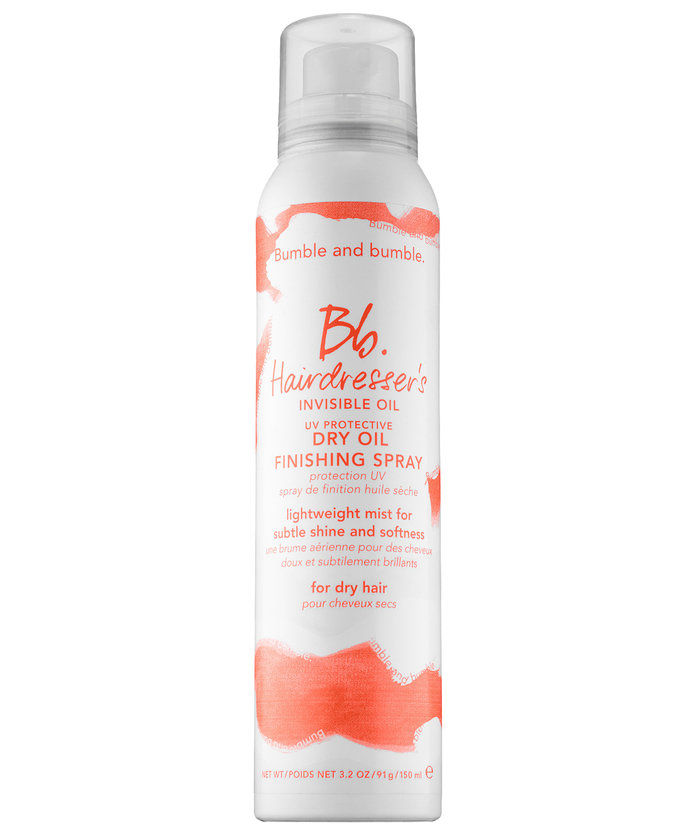 बुम्बल and Bumble Hairdresser's Invisible Oil Dry Oil Finishing Spray