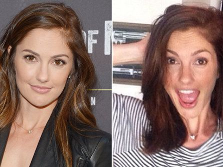 Minka Kelly Bob Haircut
