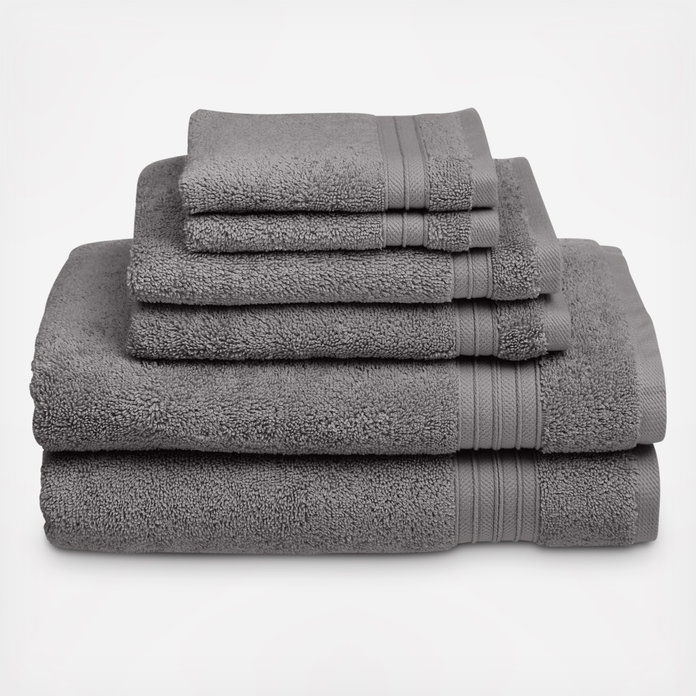 वेलस्पन HygroSoft 6-Piece Towel Set