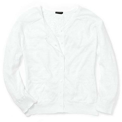 สโมสร Monaco - White Cardigan - Summer Entertaining