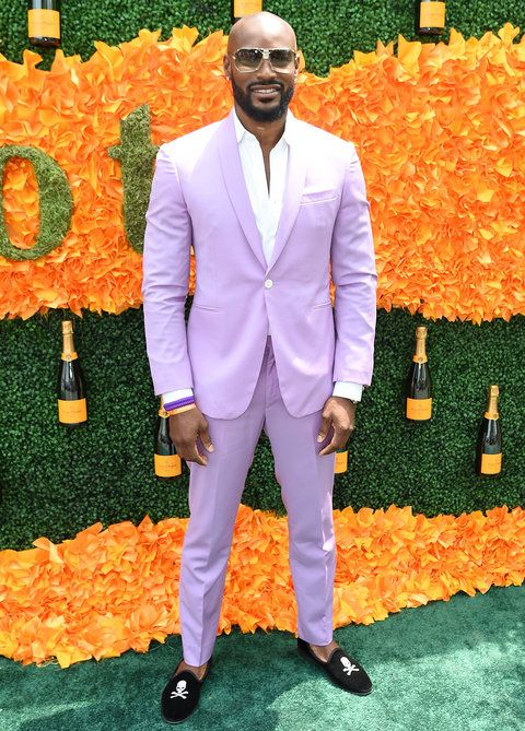 जर्सी CITY, NJ - JUNE 04: Model Tyson Beckford attends the Ninth Annual Veuve Clicquot Polo Classic at Liberty State Park on June 4, 2016 in Jersey City, New Jersey. (Photo by Jamie McCarthy/Getty Images for Veuve Clicquot)