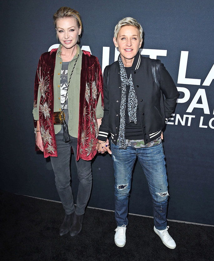 เอลเลน DeGeneres and Portia De Rossi