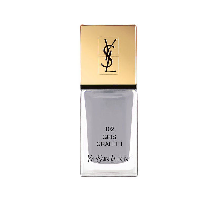 यवेस Saint Laurent La Laque Couture Nail Lacquer in Gris Street Art