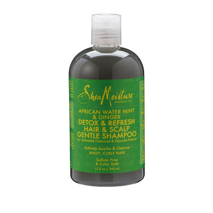 SheaMoisture African Water Mint & Ginger Detox & Refresh Shampoo