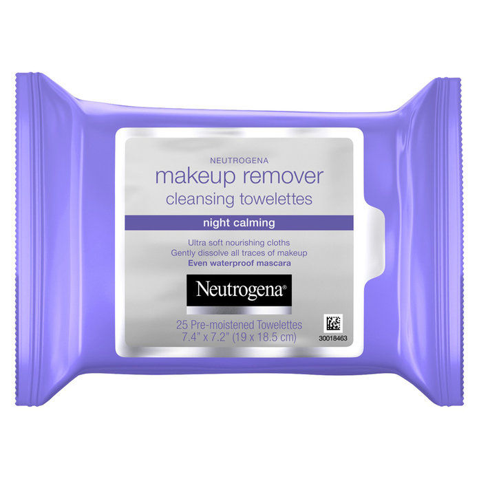 Neutrogena Night Calming Makeup Remover Cleansing Towelettes & Wipes