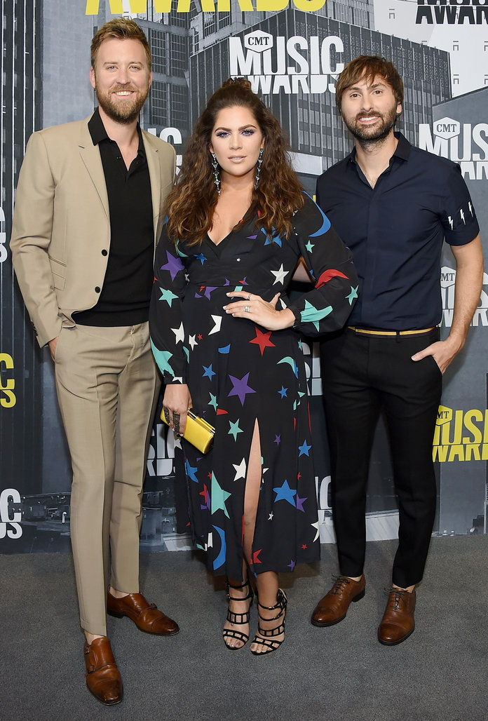 चार्ल्स Kelley, Hillary Scott and Dave Haywood of Lady Antebellum