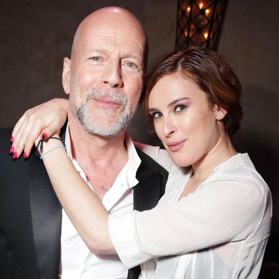 रुमर and Bruce Willis