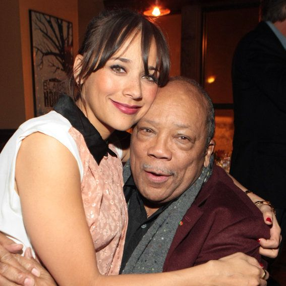 रशीदा and Quincy Jones