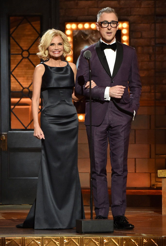 คริสติน Chenoweth and Alan Cumming