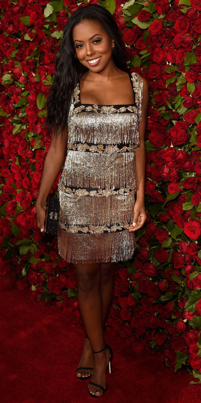 Actress Adrienne Warren attends the 70th Annual Tony Awards at The Beacon Theatre on June 12, 2016 in New York City.