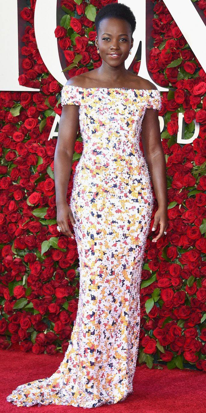 Lupita Nyong'o attends the 70th Annual Tony Awards at The Beacon Theatre on June 12, 2016 in New York City.