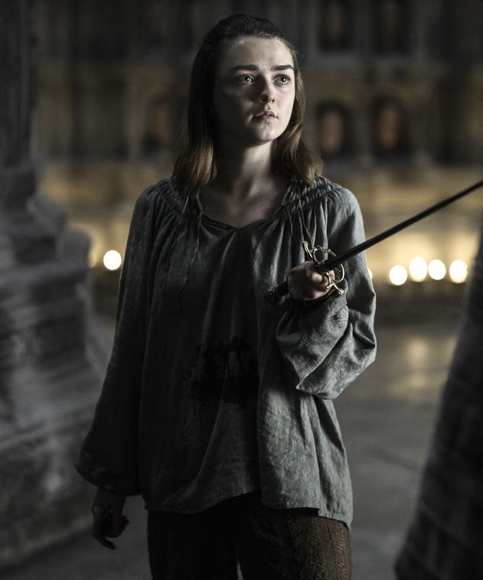 आर्य Stark Is, Well, Arya Stark