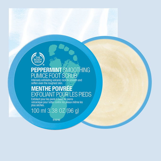 Body Shop Peppermint Cooling Pumice Foot Scrub