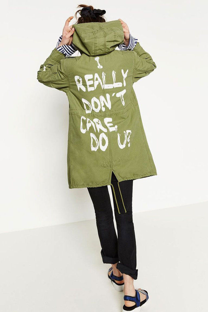 ज़रा I Don't Care Jacket