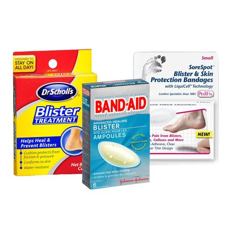 ดร Scholl's Blister Treatment, Band-Aid Advanced Healing Blister, SoreSpot Blister & Skin Protection Bandages