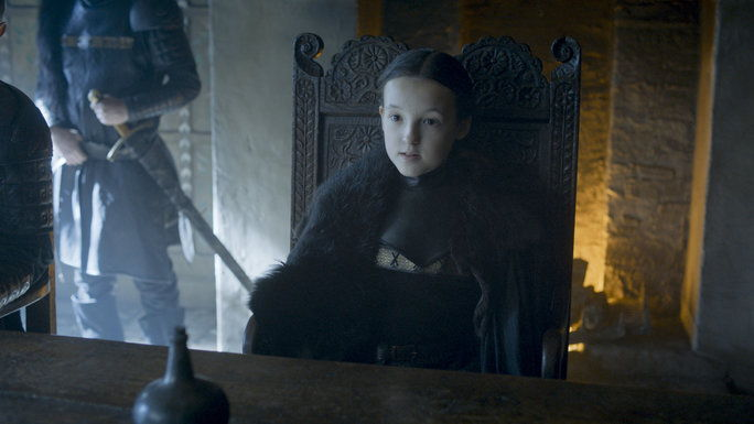 Lyanna Mormont Rules as the Coolest Kid-Queen Ever