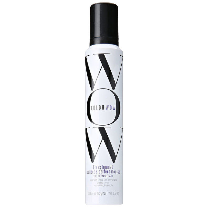 रंग Wow Brass Banned Correct And Perfect Mousse – Blonde